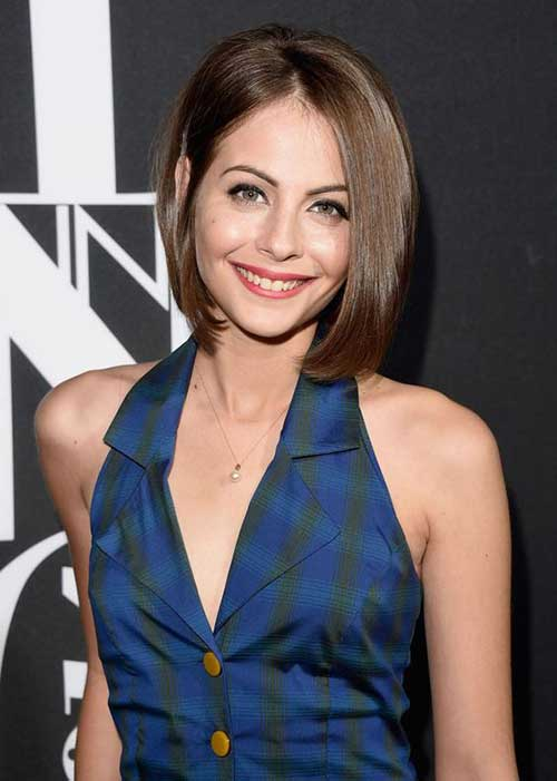Corte de pelo corto de Willa Holland