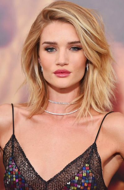 Rosie Huntington Bob
