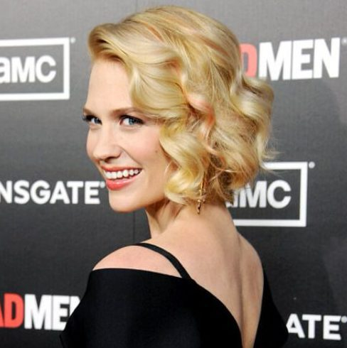 january jones rose gold peekabo highlights