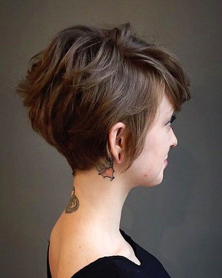 Short Brown Hairstyles and Haircuts, Últimas corte de pelo de mujer para corto Cabello
