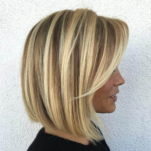 Crested Under Bob con Chunky Highlights