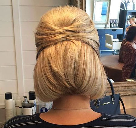 Pretty Hairtyle, Wedding Updos Bob Women