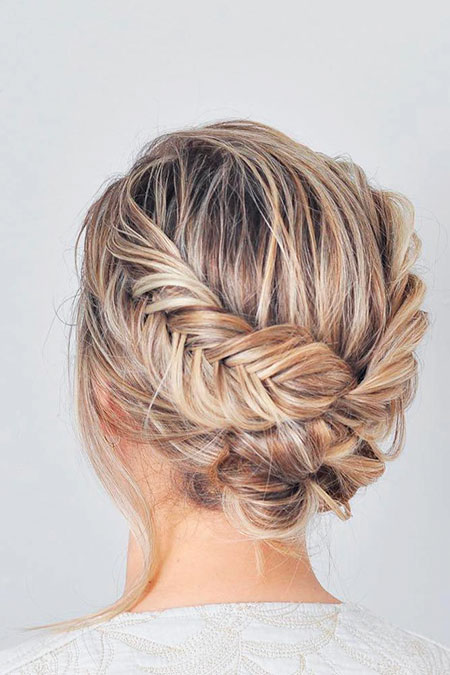 Simple Hairtyle, Updo Prom Boda Upstyles