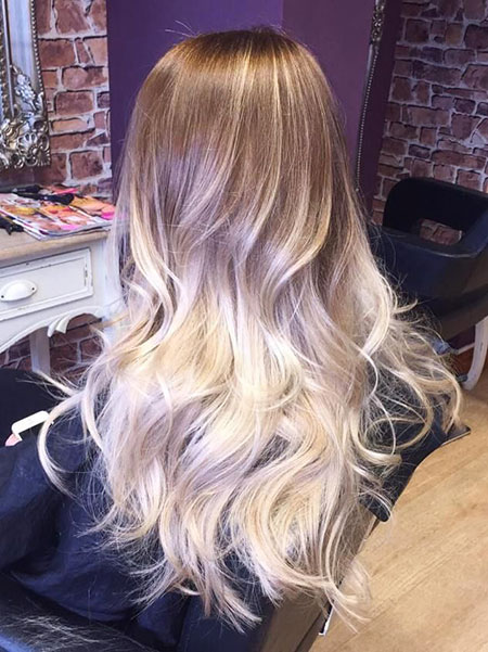 Blonde Ombre Balayage Platinum