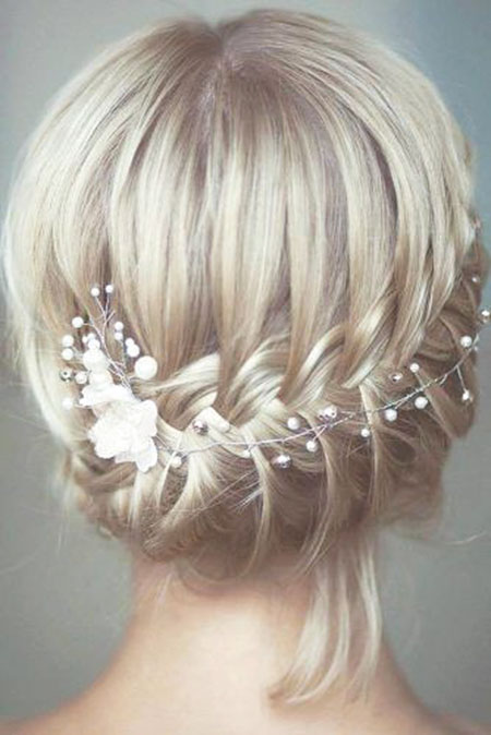 Bobo Updo Blonde Short