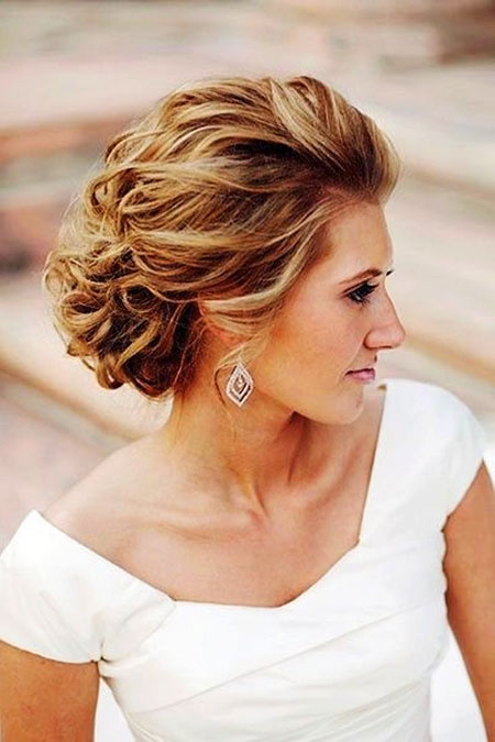 Boda Updo Short Mother
