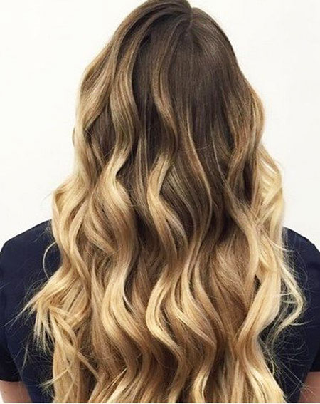 0, Ombre Hair Balayage Blonde