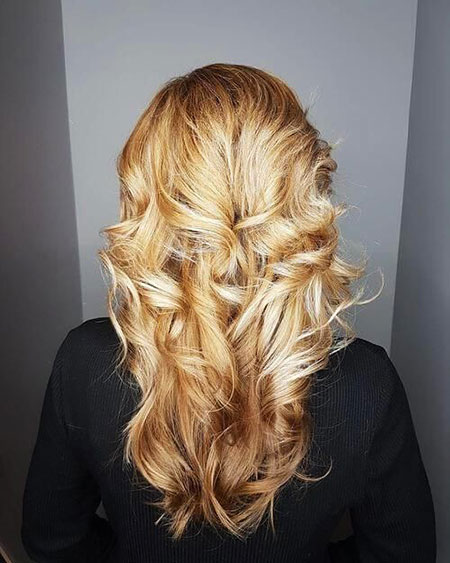Cabello Updo Curly Long