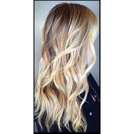 Balayage Blonde Hair Ombre