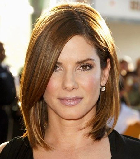 Thin Hair, longitud Sandra Bullock Women