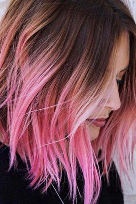 Pink Ombre Color Some