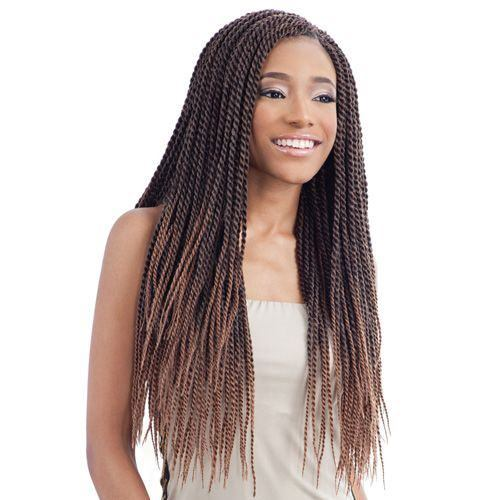 Ombre Look Twists para mujeres negras
