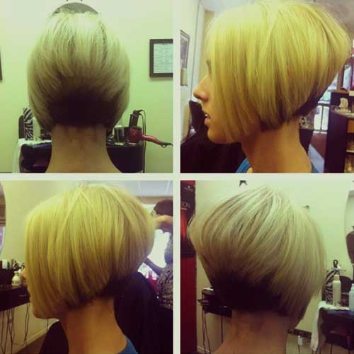 Cool Stacked Bob en capas Hairdo