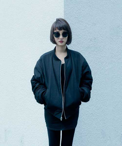 Hipster Style French Bob Haircut